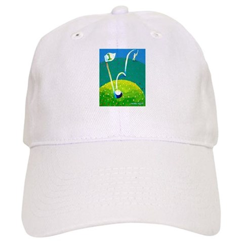 'Hole in One'  Sports Cap by CafePress