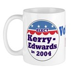 Elect Kerry-Edwards 2004 Mug