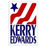 Kerry-Edwards 2004 Big 23x35 Poster