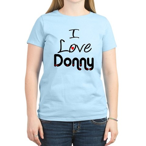 Product Image of ilovedonnyblk T-Shirt