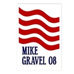 Mike Gravel Postcards (Package of 8)