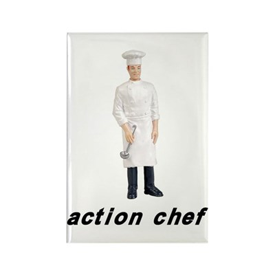 Action Chef Magnet