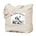 French Toast Wine Tote Bag