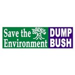 Save the Environment: Dump Bush