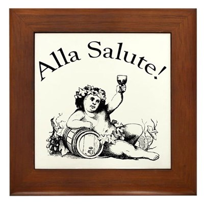 Alla Salute Kitchen Sign