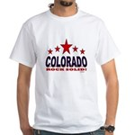 Colorado Rock Solid! White T-Shirt