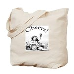 English Toast Wine Tote Bag