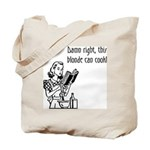 Blonde Can Cook Tote Bag