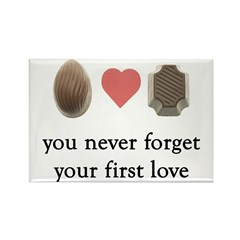 First Love Chocolate Magnet
