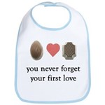 First Love Chocolate Bib