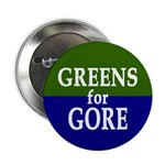 Greens for Gore 2008 Button