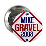 "Mike Gravel 2008 2.25"" Button (10 pack)"