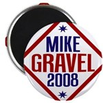 "Mike Gravel 2008 2.25"" Magnet (100 pack)"