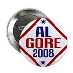 "Al Gore 2008 2.25"" Button (10 pack)"