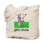 Grill Power Tote Bag