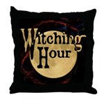 WitchingHour Throw Pillow