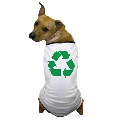 Green Recycle Dog T-Shirt