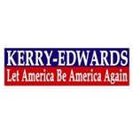 Kerry-Edwards Let America Be America