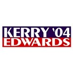 Kerry-Edwards 2004 Bumper Sticker
