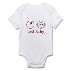 ICSI baby face & dish Infant Bodysuit