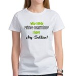 I have My Soldier (green) Women's T-Shirt