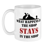 What Happens In The Shop Mug