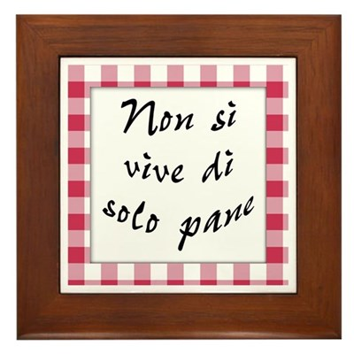 Vive Solo Pane Kitchen Sign