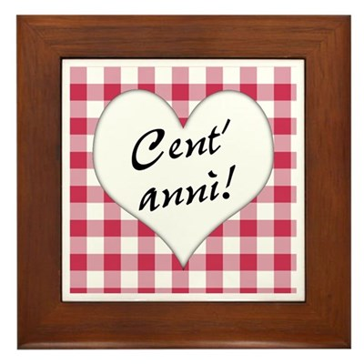 Cent'anni Kitchen Sign