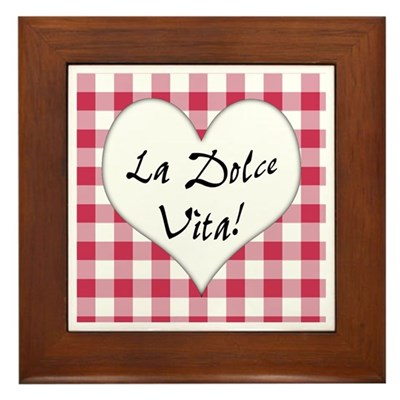 La Dolce Vita Kitchen Sign