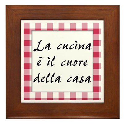 Cucina Cuore Casa Kitchen Sign