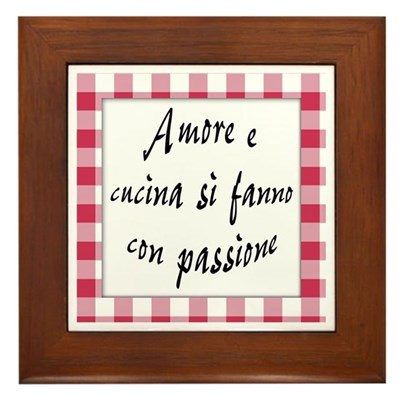 Amore Cucina Passione Kitchen Sign