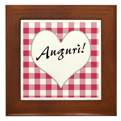 Auguri Kitchen Sign