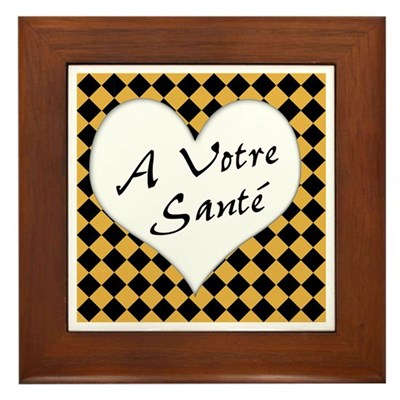 A Votre Sante Kitchen Sign