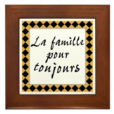 Famille Toujours Kitchen Sign