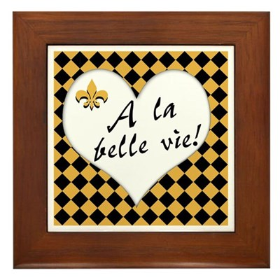 La Belle Vie Kitchen Sign