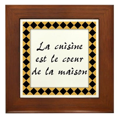 Cuisine Coeur Maison Kitchen Sign