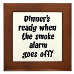 Smoke Alarm Saying Plaque