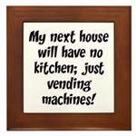 Kitchen Vending Machines Plaque