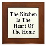 Kitchen Heart Home Plaque