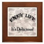 Enjoy Life It's Delicious Kitchen Sign