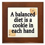 Cookie Balanced Diet Plaque