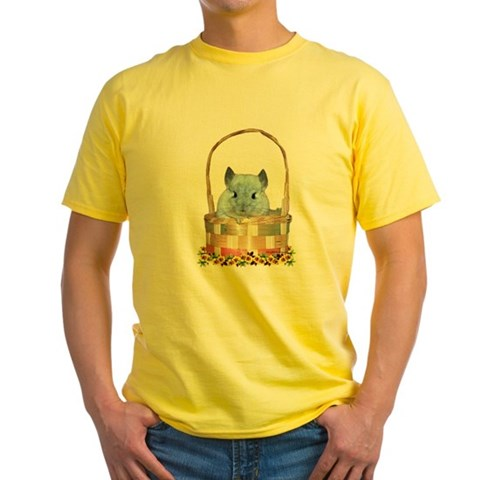 Product Image of Easter Chin Yellow T-Shirt