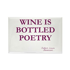 Wine Poetry Magnet