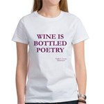 Wine Poetry Women's T-Shirt