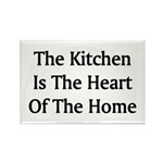 Kitchen Saying Rectangle Magnet