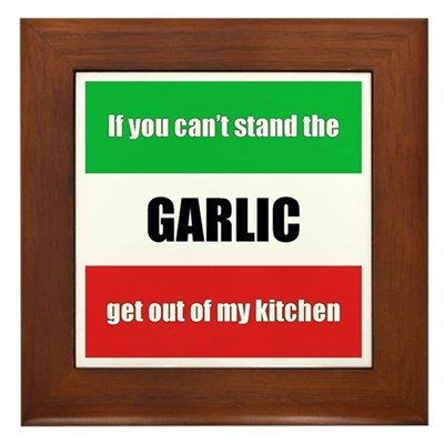 Garlic Lover Kitchen Sign