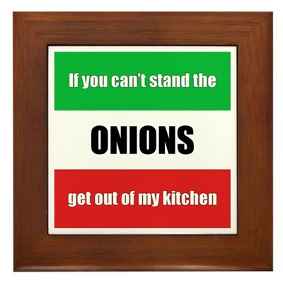 Onion Lover Kitchen Sign