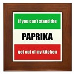 Paprika Lover Plaque