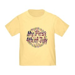 Baby First July 4th Infant/Toddler T-Shirt