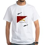 4th Air Cavalry Vietnam White T-Shirt